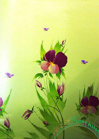 Rèm cuốn tranh 2