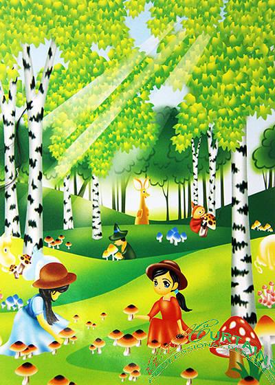 Rèm cuốn tranh 10