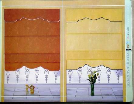 Lựa chọn rèm vải hay rèm roman