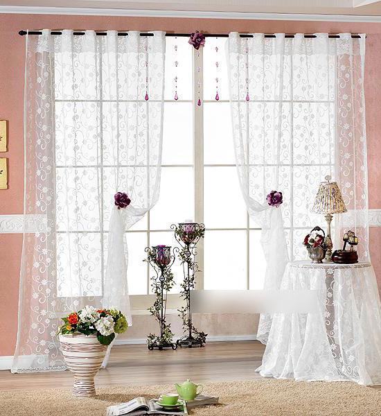 Rèm vải voan làm cho căn phòng bạn trở nên sang trọng, nhẹ nhàng