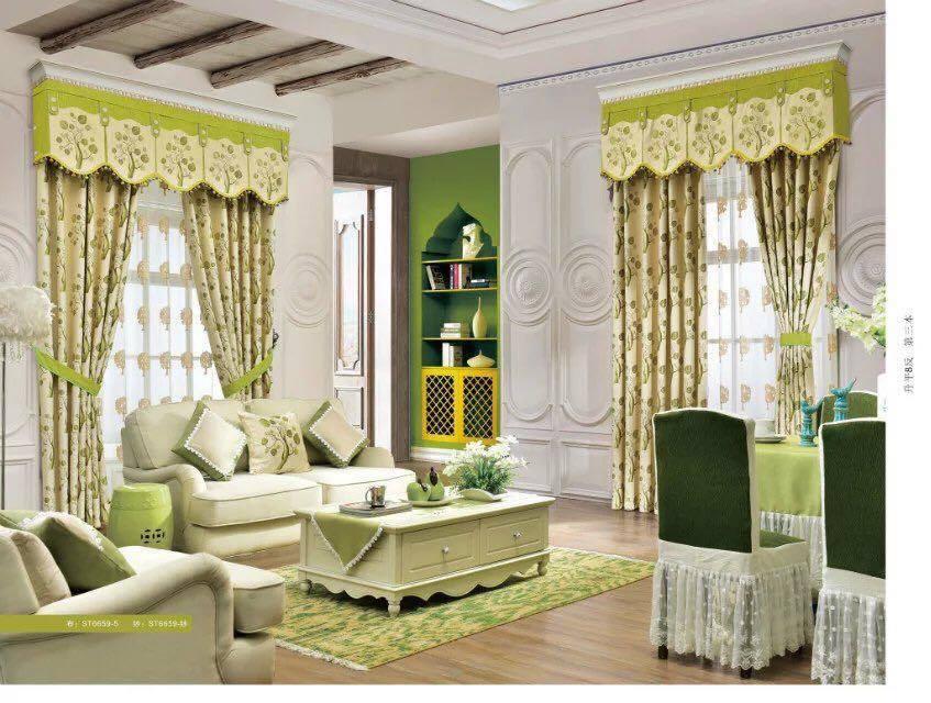 Phòng khách trở nên đẹp, sang trọng hơn với rèm cửa HT