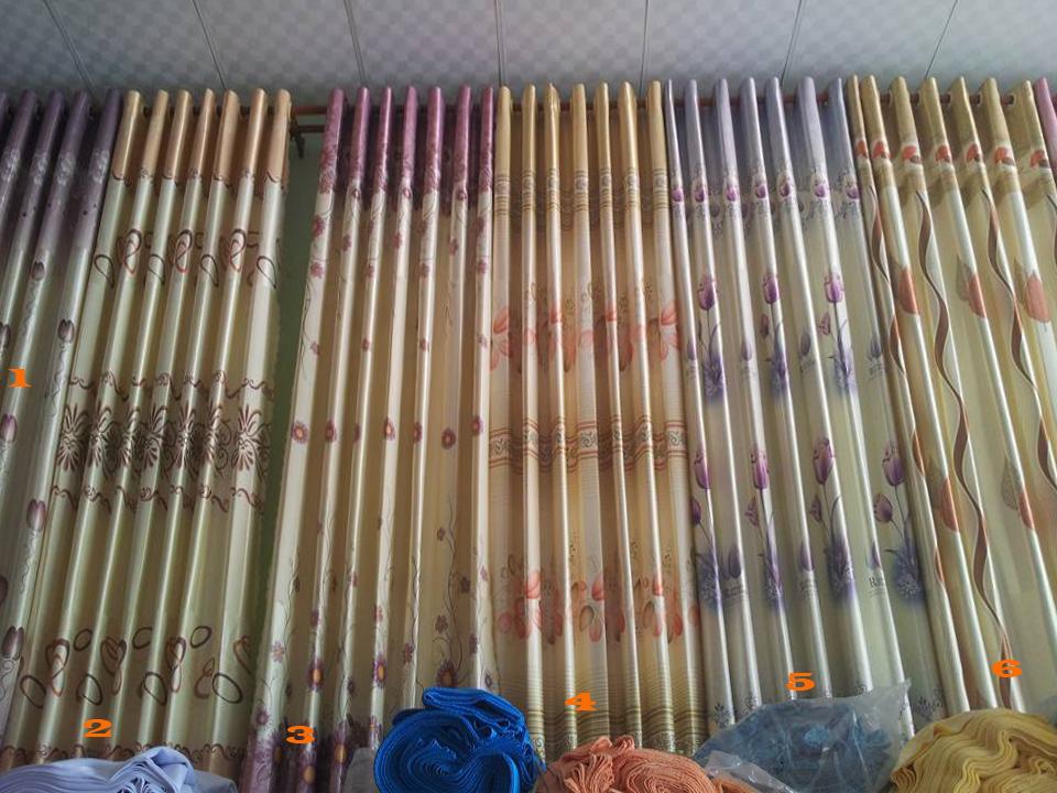 Rèm vải phổ thông 1