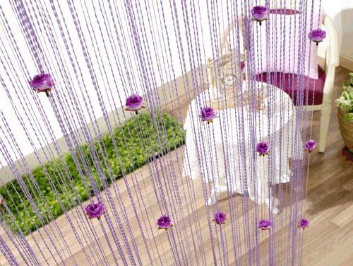 Rèm sợi trang trí cho không gian thêm sang trọng, hiện đại và ấn tượng